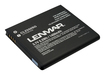 Lenmar - Lithium-Ion Battery for Samsung Galaxy S II i727 Mobile Phones - Black