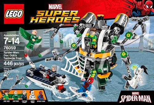 LEGO Marvel Super Heroes Spider-Man: Doc Ock's Tentacle Trap Multi ...