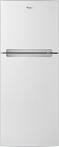 Whirlpool - 10.7 Cu. Ft. Top-Freezer Refrigerator - White
