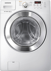 Samsung - 3.6 Cu. Ft. 9-cycle High-efficiency Steam Front-loading Washer - White 5855096