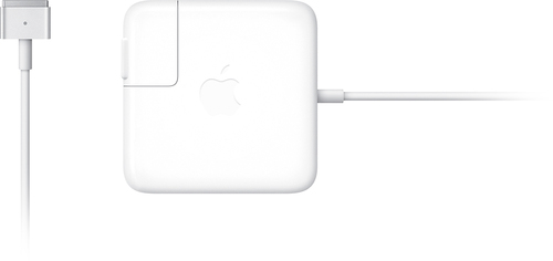 Apple 45W MagSafe 2 Power Adapter with Magnetic DC Connector White