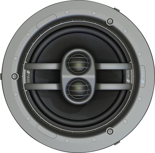 """Niles - Ceiling Mount 8"""" 2-Way In-Ceiling Speaker (Each) - Silver"""