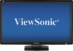 "ViewSonic - 27"" Widescreen LED HD Monitor - Black"