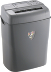 Dynex™ - 10-Sheet Crosscut Paper Shredder - Gray