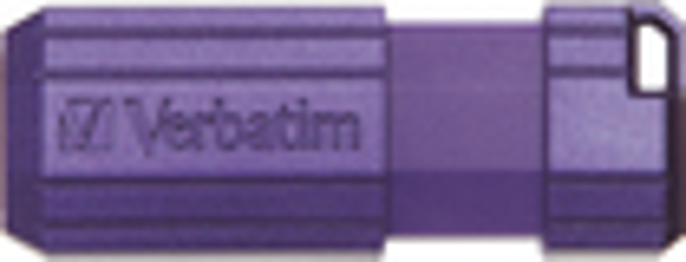 Verbatim - Store 'n' Go PinStripe 16GB USB 2.0 Flash Drive - Violet