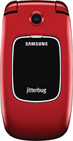 Jitterbug - Samsung Jitterbug5 No-Contract Cell Phone - Red