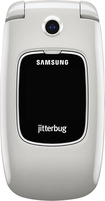 Jitterbug - Samsung Jitterbug5 No-Contract Cell Phone - White