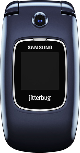 Jitterbug - Samsung Jitterbug5 No-Contract Cell Phone - Blue