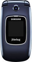 GreatCall - Samsung Jitterbug5 No-Contract Cell Phone - Blue