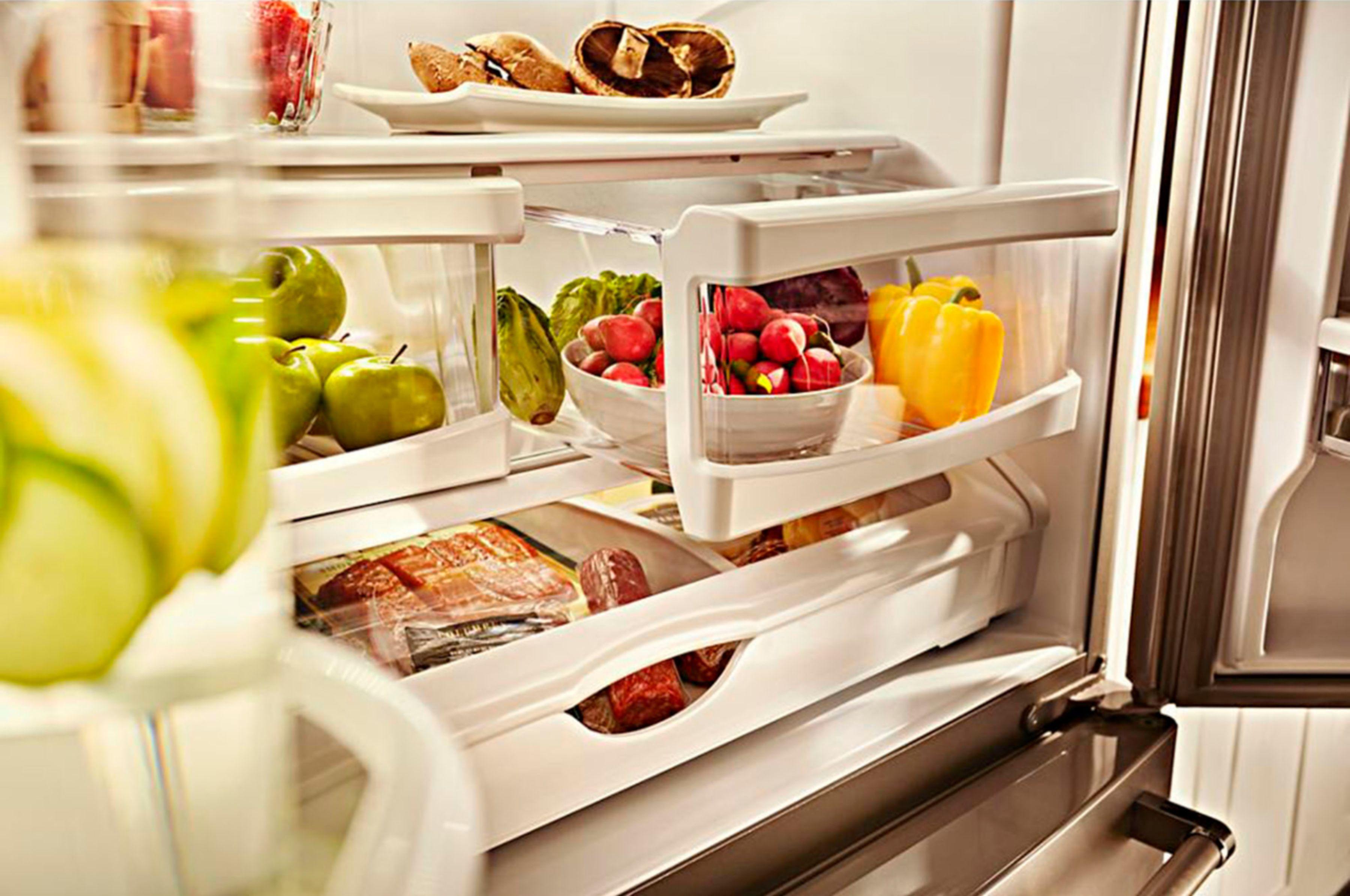Best Cabinet Depth Refrigerator Kitchenaid 200 Cu Ft French Door Counter Depth Refrigerator