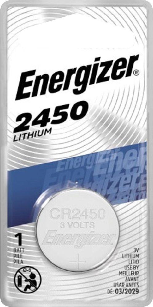 Energizer - 2450 3-Volt Lithium Battery - Silver