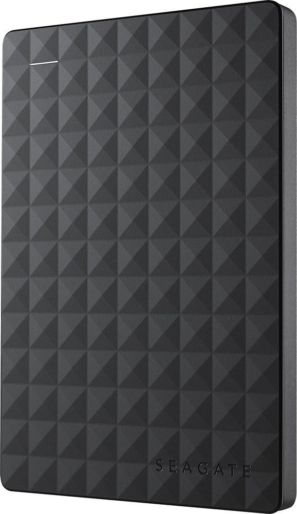 Seagate - Expansion 500GB External USB 3.0 Portable Hard Drive - Black