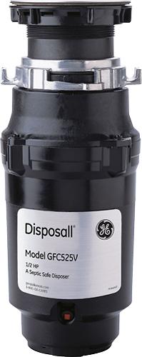 Ge - 1/2 Hp Disposer - Black