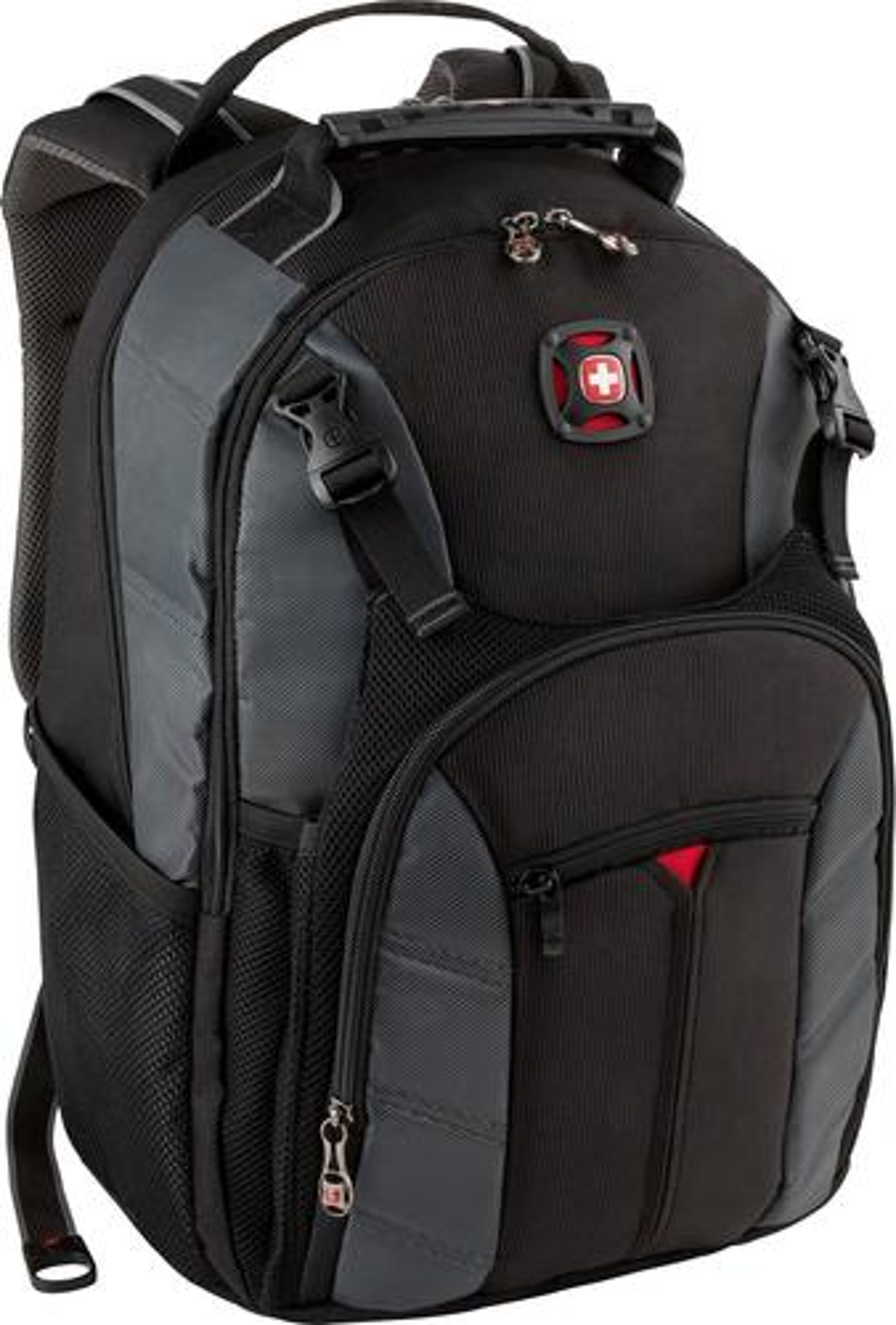 SwissGear Laptop Backpack Gray 27338090 - Best Buy