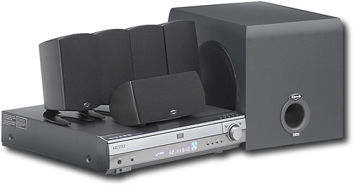 Samsung 500W 5-DVD Progressive-Scan Home Theater System 5886008