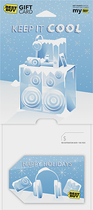Best Buy GC - $25 Holiday Keep It Cool Gift Card