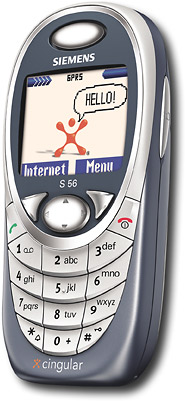 Siemens GSM/GPRS Cell Phone with Wireless Internet (Cingular)