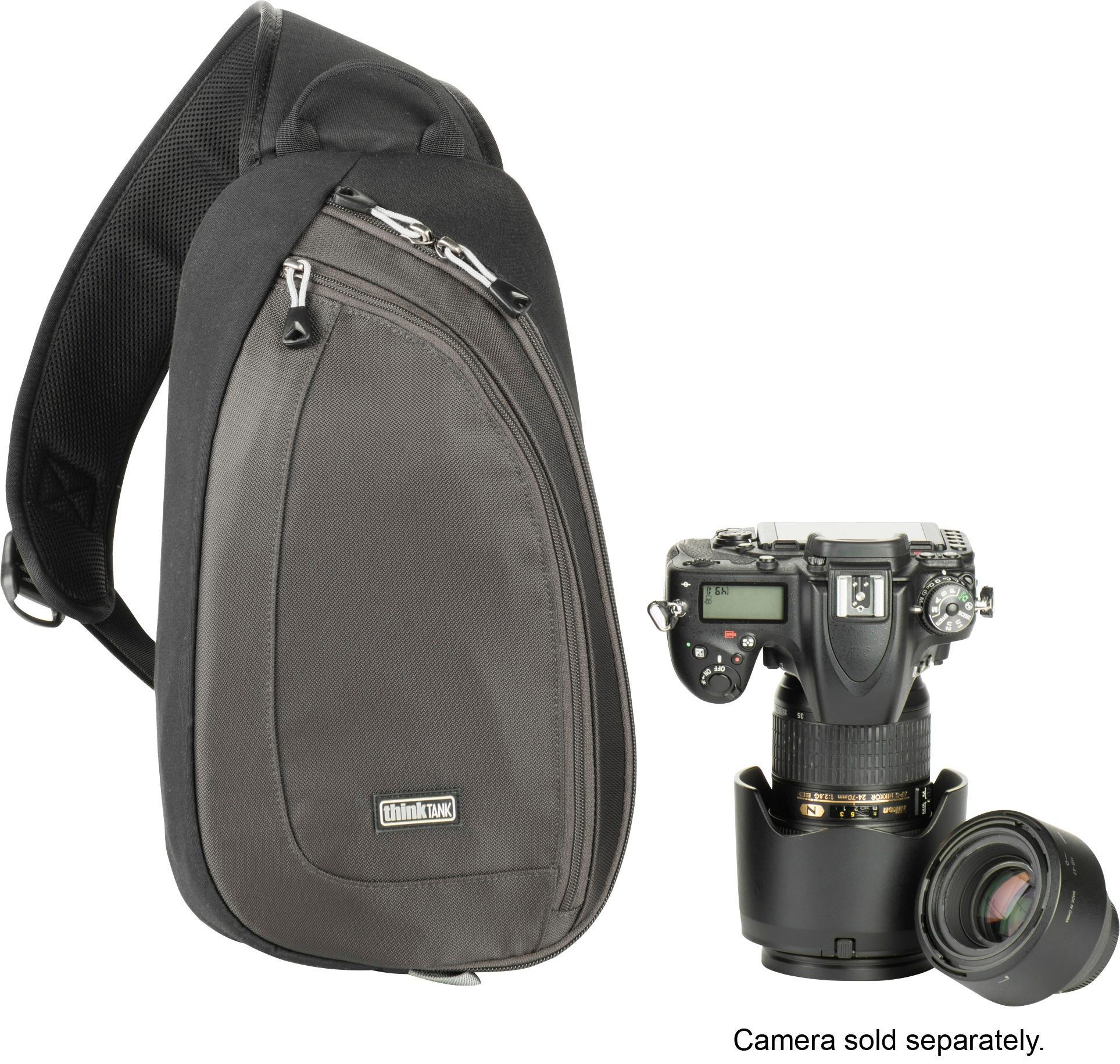 Thinktank Turnstyle Camera Sling Bag Charcoal Angle