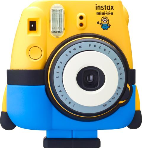 Fujifilm Minion Instax mini 8 Instant Film Camera Yellow 16556348 ...