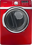 Samsung - 7.4 Cu. Ft. 13-Cycle Steam Electric Dryer - Red