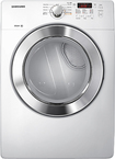 Samsung - 7.3 Cu. Ft. 9-cycle Steam Electric Dryer - White 5894631