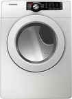 Samsung - 7.3 Cu. Ft. 7-cycle Electric Dryer - White 5894686