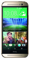 HTC - One (M8) 4G Cell Phone (Unlocked) - Gold