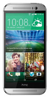 HTC - One (M8) 4G Cell Phone (Unlocked) - Silver