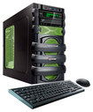 CybertronPC - 5150 Unleashed III Desktop - AMD FX-Series - 8GB Memory - 1TB Hard Drive - Black/Green
