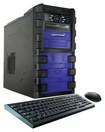CybertronPC - Ravage Desktop - Intel Core i7 - 16GB Memory - 1TB Hard Drive - Black/Blue
