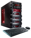 CybertronPC - 5150 Unleashed IV Desktop - AMD FX-Series - 8GB Memory - 1TB Hard Drive - Black/Red