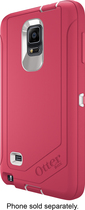 OtterBox - Defender Series Case with Holster for Samsung Galaxy Note 4 Cell Phones - Rose/White