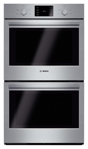 Bosch - 500 Series 30 Built-in Double Electric Wall Oven - Stainless Steel