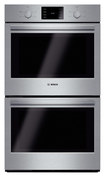 "Bosch - 500 Series 30"" Built-in Double Electric Wall Oven - Stainless-Steel"