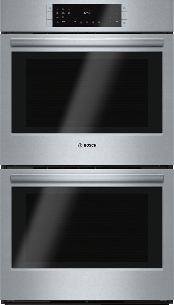 Bosch 800 Series 30 Built In Double Electric Convection Wall Oven Stainless Steel At Pacific S