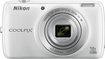 Nikon - Coolpix S810c 16.0-megapixel Digital Camera - White