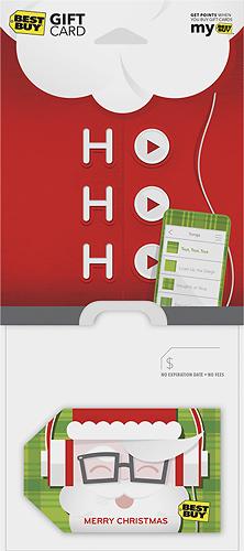 Best Buy GC - $50 Holiday Santa Ho Ho Ho Gift Card