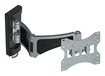 """Diamond - Articulating TV Wall Mount for Most 14"""" - 37"""" Flat-Panel TVs - Extends 19-7/8"""" - Black"""