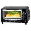 Brentwood - TS-345B Toaster Oven and Broiler - Black