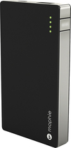 mophie - powerstation mini External Battery for Most Mini USB Devices - Black