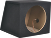 "Metra - 10"" Single Sealed Subwoofer Enclosure - Charcoal"