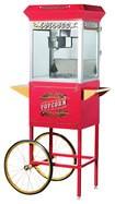 Great Northern Popcorn - Pasadena 8-Oz. Popcorn Maker - Red