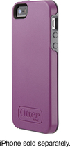 OtterBox - Symmetry Case for Apple® iPhone® 5 and 5s - Radiant Orchid