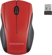 Insignia™ - Wireless Optical Mouse - Red