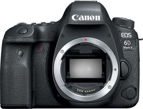 Canon EOS 6D Mark II DSLR Camera (Body Only) Black 1897C002 - Best Buy