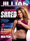 Jillian Michaels: One Week Shred (dvd) 5966025