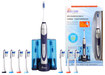 Pursonic - S500 Rechargeable Sonic Toothbrush - Silver/White/Purple