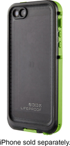 LifeProof - nüüd Case for Apple® iPhone® 5 and 5s - Lime/Smoke