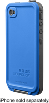 LifeProof - Case for Apple® iPhone® 4 and 4S - Blue