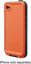 LifeProof - Case for Apple® iPhone® 4 and 4S - Orange